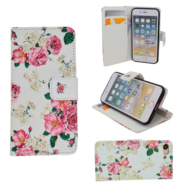 iPhone 7/8/SE (2020) - Läderfodral / Skydd Vit