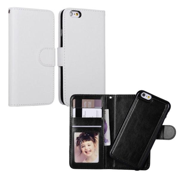 iPhone 7/8/SE (2020) - Plånboksfodral / Magnet Skal Svart