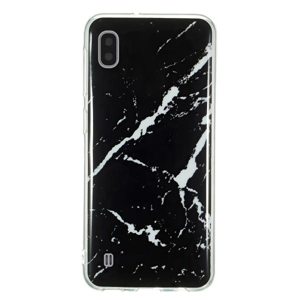 Samsung Galaxy A10 - Skal / Skydd / Marmor Svart