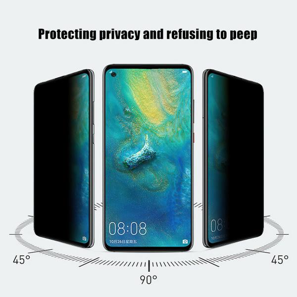 Samsung Galaxy A21s - Integritet Härdat Glas Skärmskydd