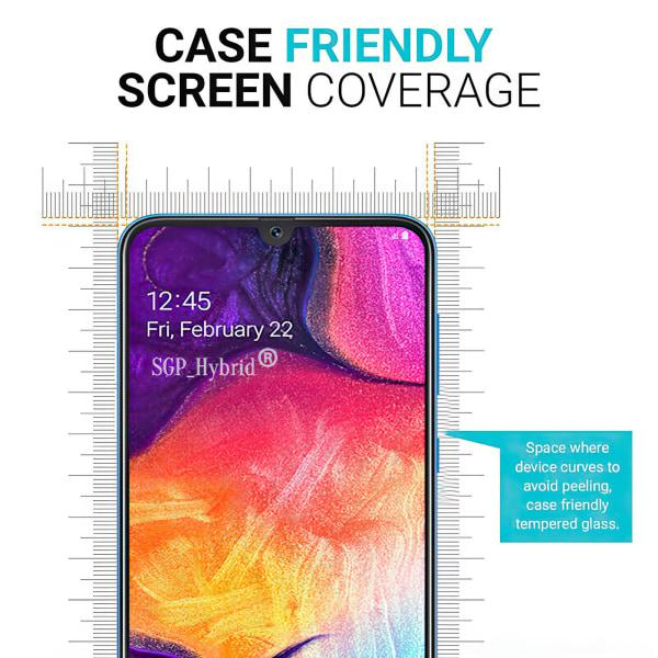 Samsung Galaxy A50 - Härdat Glas Skärmskydd