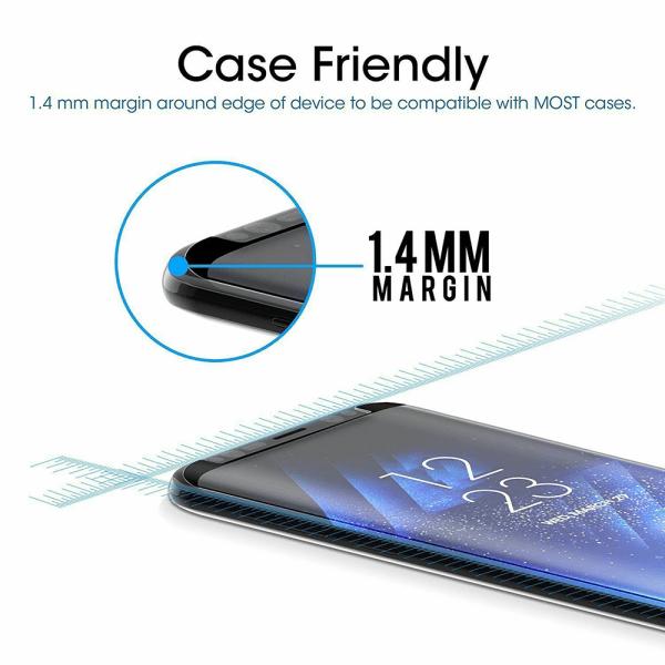 Samsung Galaxy S8 - Härdat Glas Skärmskydd