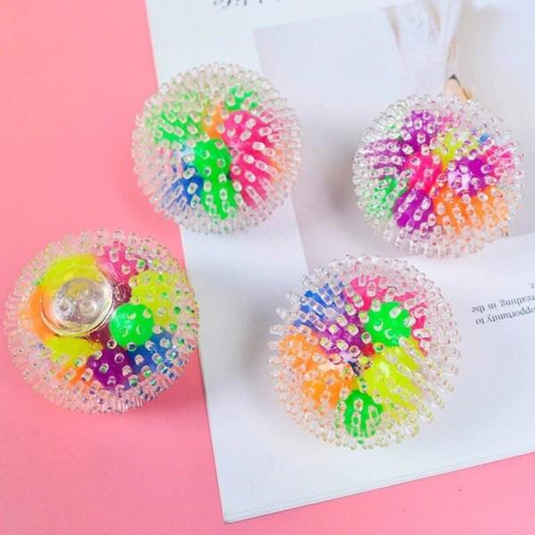 Fidget sensorisk leksaker tryck boll stressav lastare Flerfärgad