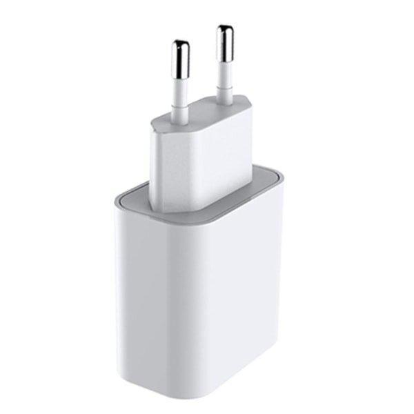 iPhone charger for Apple 11/12 USB-C hurtiglader 20W Vit