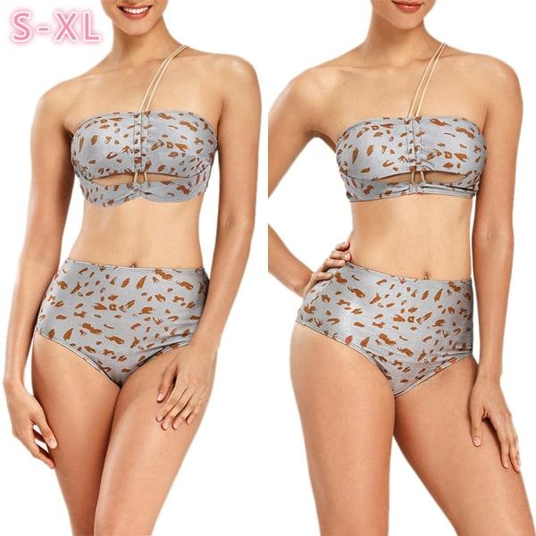 2st Ny sommar dammodell Sexig badkläder stickad