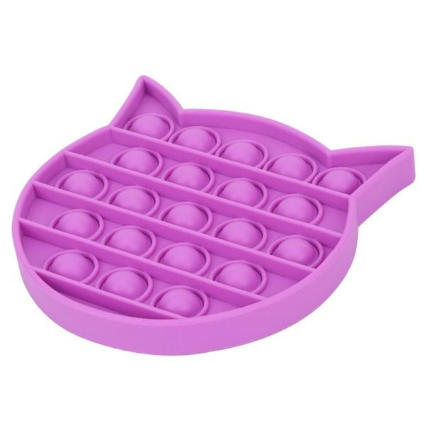 Alla hjärtans dag formad hjärta driver populära Fidget-leksaker Purple-Cat