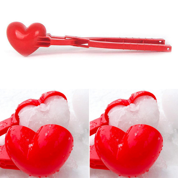 Älskar snöklämma, snöbollstillverkningsverktyg, vintersnöleksak