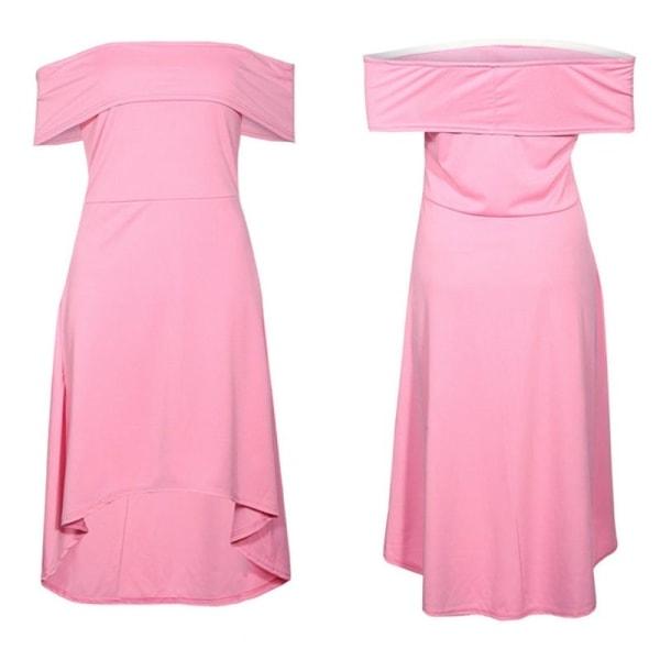 Höstklänning Kvinnor Fritid Enfärgad av khaki M