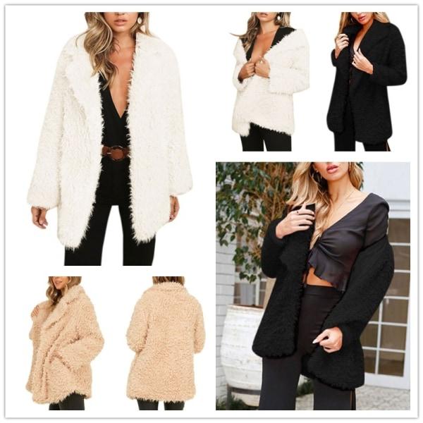 Autumn Velvet Sexig kofta Coat Women Fashion Long