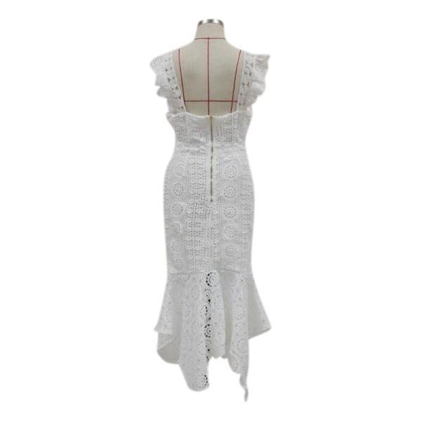 Europeisk och amerikansk ny stil kvinnors sexiga smala klänning