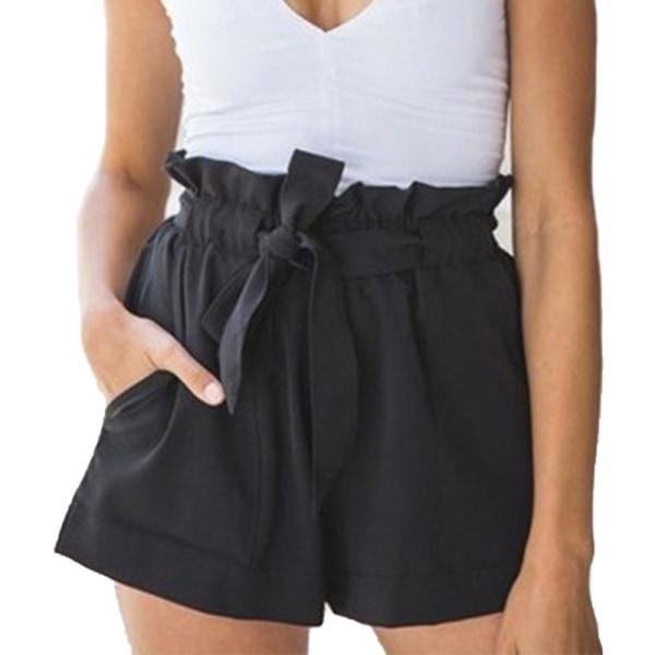 Hot Sale Kvinnor Ruffle Belt Shorts