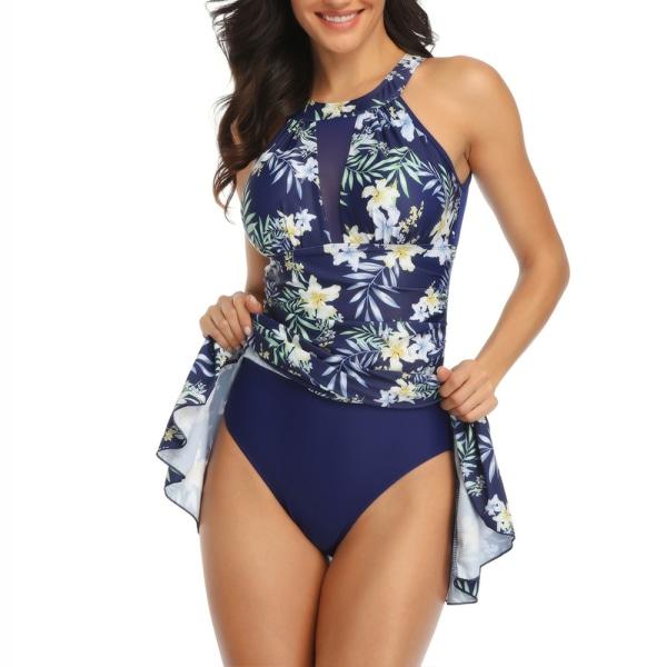 Baddräkt för kvinnor, strandklänning med stort garnklänning