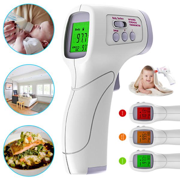 Beröringsfri infraröd termometer för kroppstemperaturmätning 16*9*4.5cm