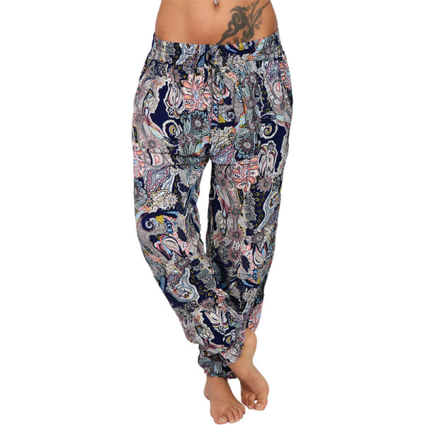 New Hot Style Digital Printing Pants black&white 3XL
