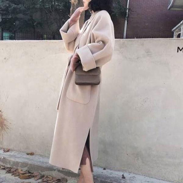 Kvinnor Hepburn Style Elegant Temperament Snörning