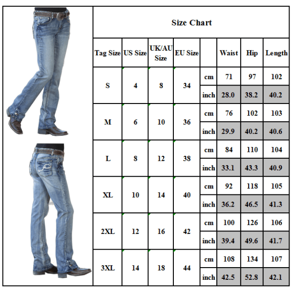 Kvinnors Casual Mid Waisted Jeans Stretch Slim Fit Denim Byxor