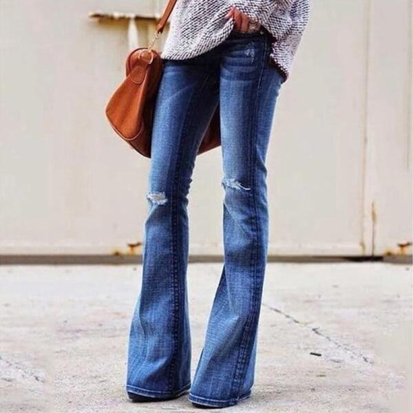 XS-XL Plus Zize Jeans Flare