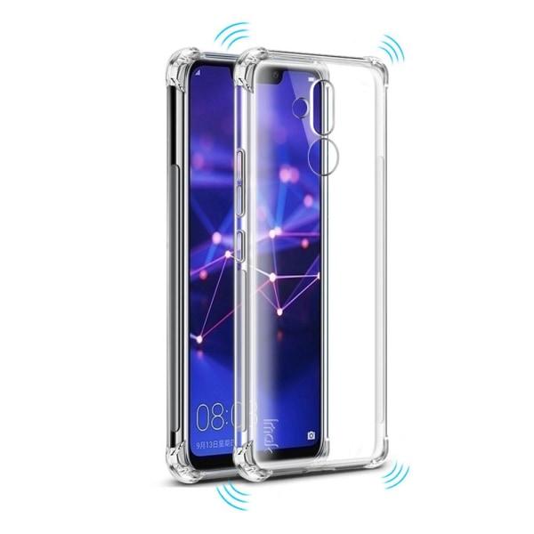 Huawei Mate 20 Lite - Tunt Silikonskal med Airbagfunktion Transparent/Genomskinlig