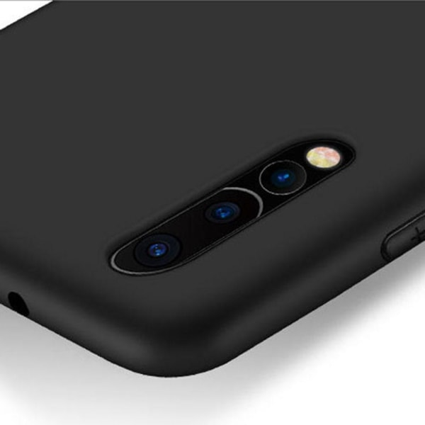 Huawei P20 Pro - Stilrent Matt Silikonskal från NKOBEE Svart