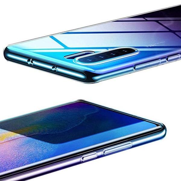 Huawei P30 Pro - Skyddande Heltäckande Silikonskal NORTH Transparent/Genomskinlig
