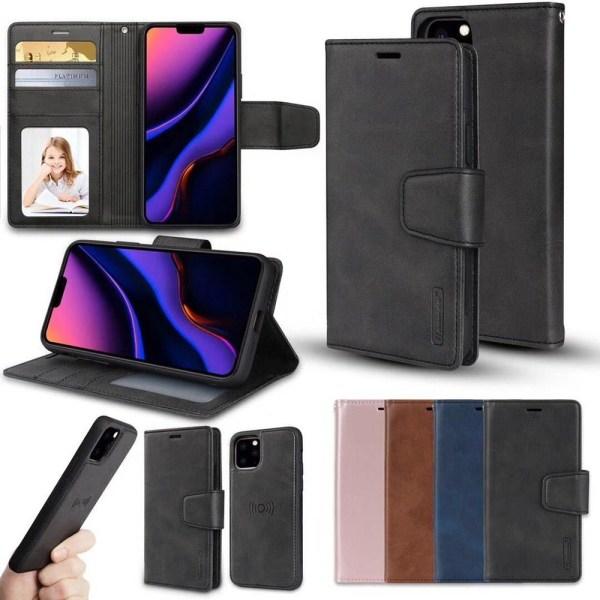 iPhone 11 Pro Max - Kraftfullt Plånboksfodral 2 i 1 (Hanman) Roséguld