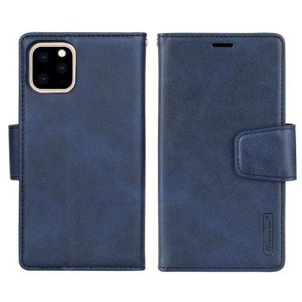 iPhone 11 Pro Max - Kraftfullt Plånboksfodral 2 i 1 (Hanman) Svart