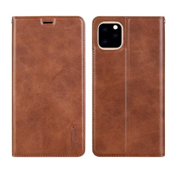 iPhone 11 Pro - Praktiskt Hanman Plånboksfodral Brun