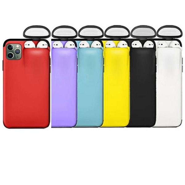 iPhone 11 Pro - Praktiskt Skyddsskal (HEAVY DUTY) 2-1 Himmelsblå