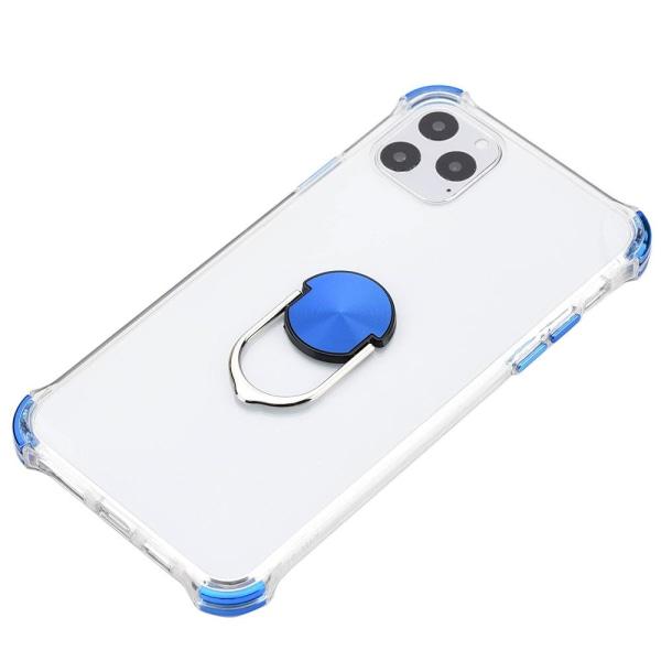 iPhone 11 Pro - Praktiskt Skyddsskal med Ringhållare Guld