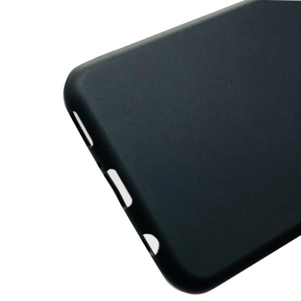 Mattbehandlat Silikonskal till Huawei Mate 20 Lite Svart
