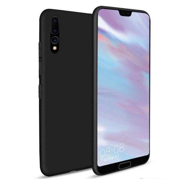 Mattbehandlat Silikonskal till Huawei P20 Pro