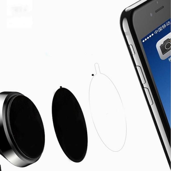 Metallplatta för mobiler UNIVERSAL (Till Mobilhållare) 40mm