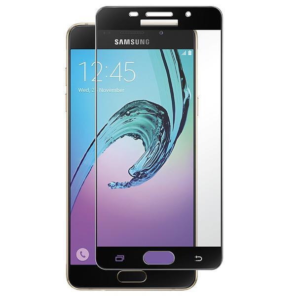 Samsung Galaxy A5 2016 (2-PACK) Skärmskydd Full-fit av HeliGuard Guld