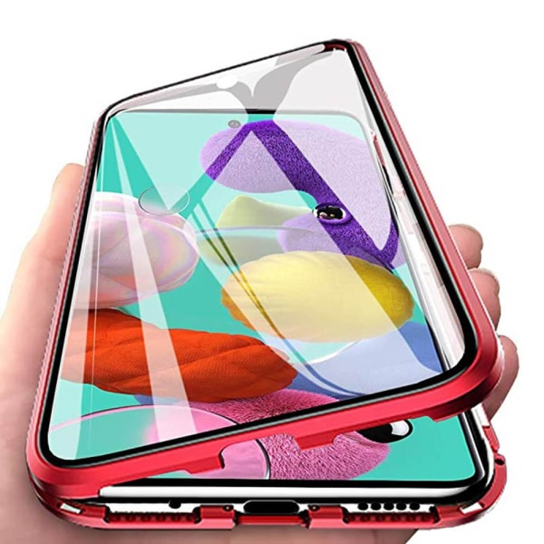 Samsung Galaxy S20 - Skyddande Magnetiskt Dubbelsidigt Skal Grön