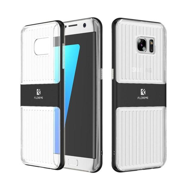 Samsung Galaxy S7 - Stötdämpande HYBRID-Skal från FLOVEME Roséguld