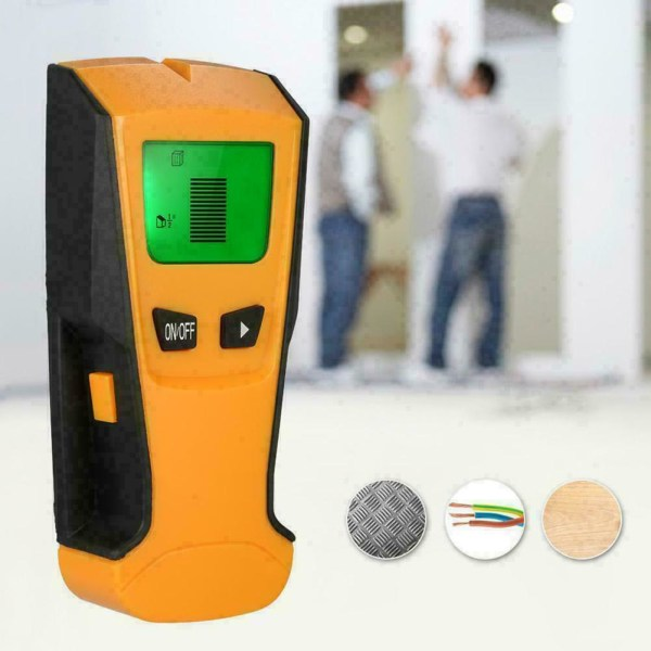 1 * Floureon 3in1 LCD Stud Center Finder AC Live Wire Probe