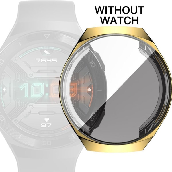 För Huawei Watch GT2E TPU-skal Bumper Full Cover Frame Protector
