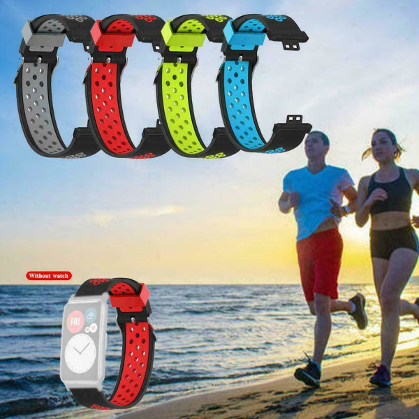 Silikonband för Huawei Watch Fit Smart Watch-armband