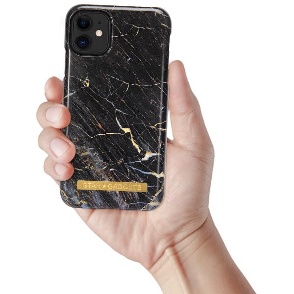 iPhone 12 - Skal / Skydd / Marmor Svart