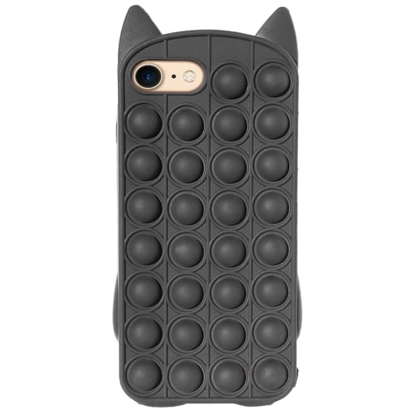 iPhone 7/8 / SE (2020) - Skyddsfodral Pop It Fidget Svart