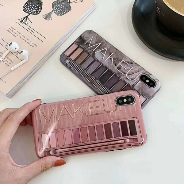 iPhone X/Xs - Skal / Skydd / MakeUp Grå