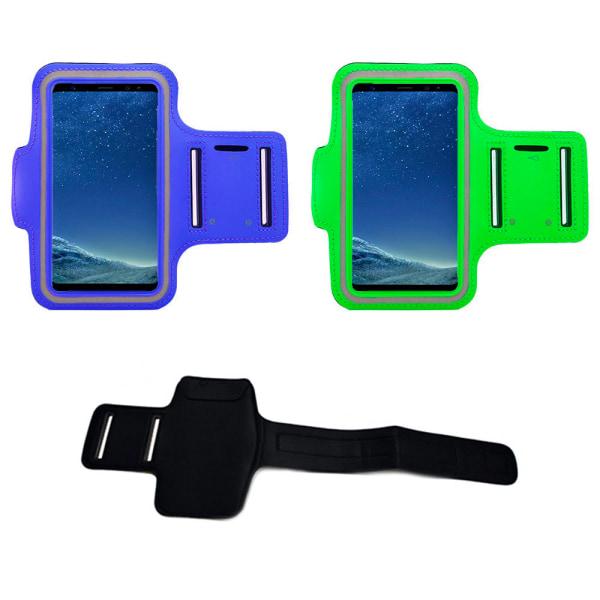 Samsung Galaxy A40 - Sportarmband Blå