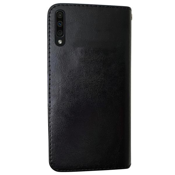 Samsung Galaxy A50 - Läderfodral / Skydd Vit