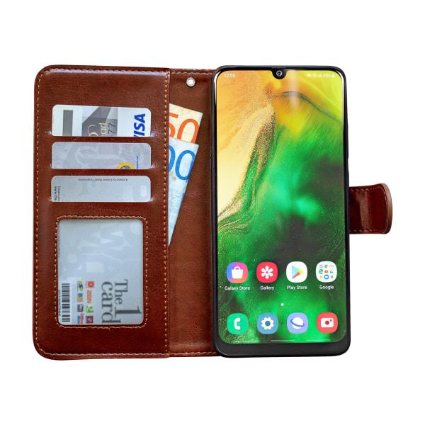 Samsung Galaxy A50 - Läderfodral / Skydd Rosa