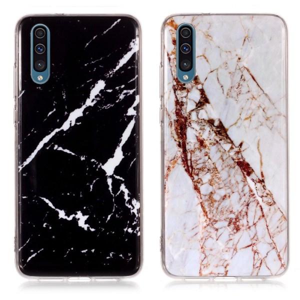 Samsung Galaxy A50 - Skal / Skydd / Marmor Vit