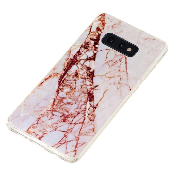 Samsung Galaxy S10e - Skal / Skydd / Marmor Svart