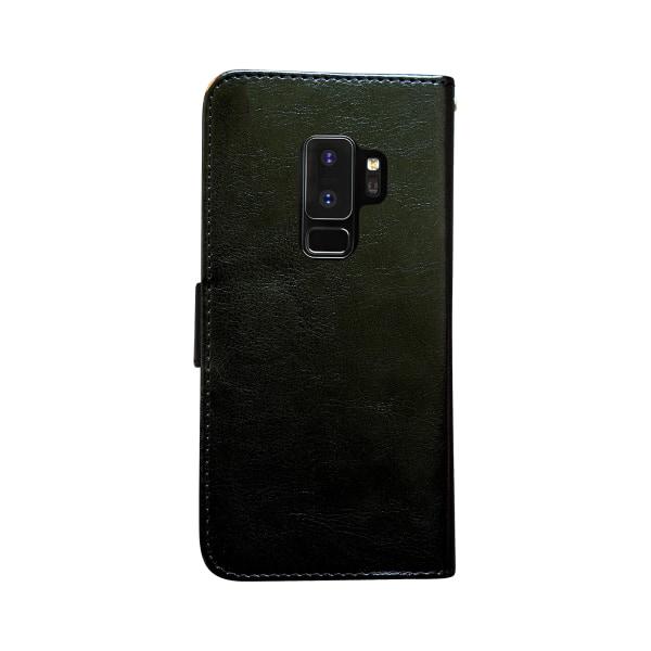 Samsung Galaxy S9 Plus - Läderfodral/Skydd Brun