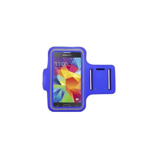 Sportarmband Samsung Galaxy S6 Edge Blå