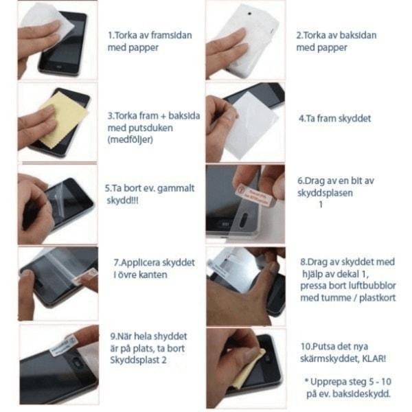 Sony Xperia Z5 E6653 Skydd, Fodral, Case + SuperGuard skärmskydd