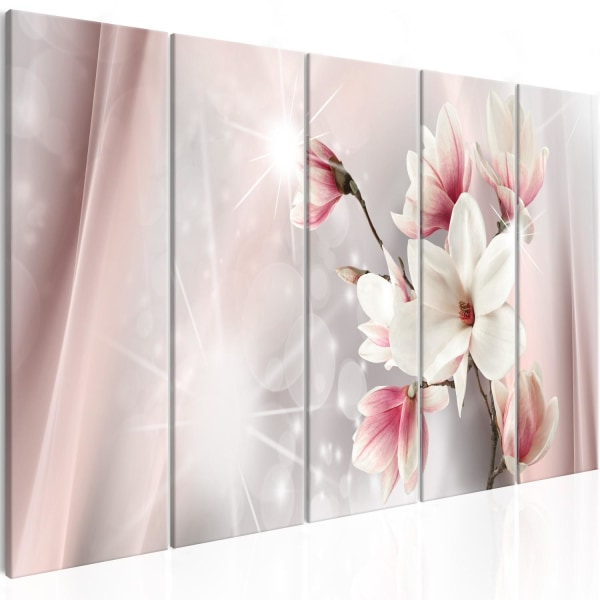 Tavla - Dazzling Magnolias (5 Parts) Narrow Size: 225x90